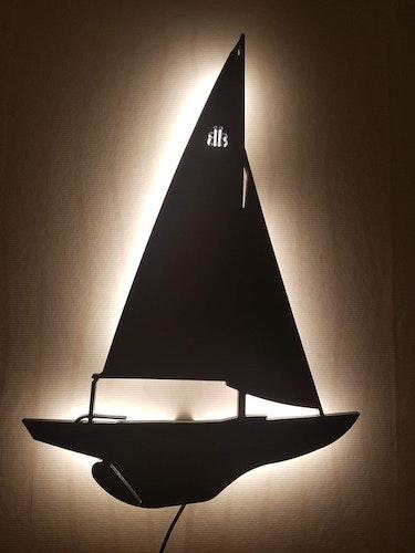 Vägglampa Segelbåt BB11