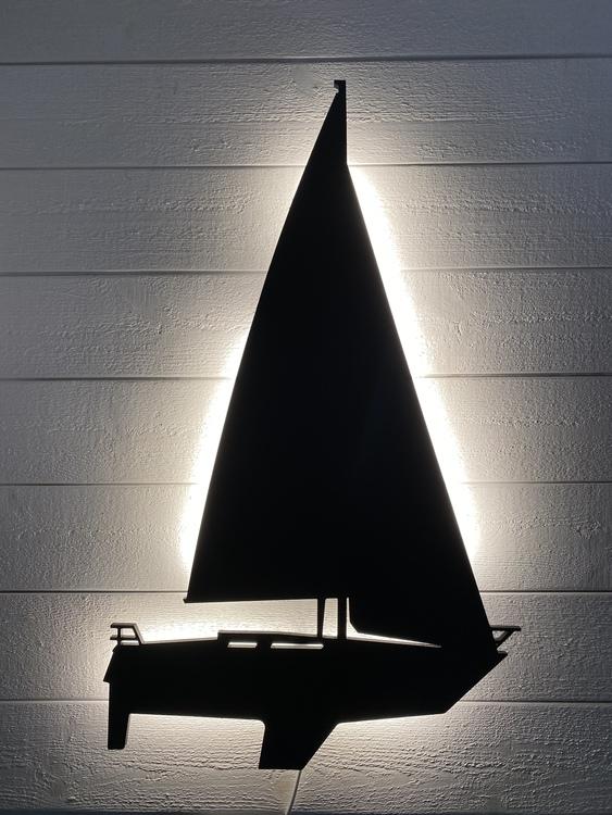 Vägglampa Segelbåt Mamba 31