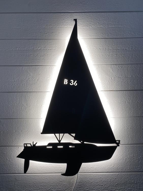 Vägglampa Båt Bavaria 36