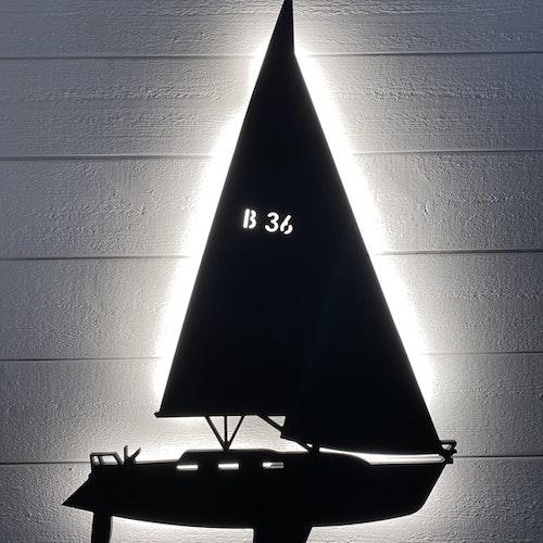 Vägglampa Segelbåt Bavaria 36