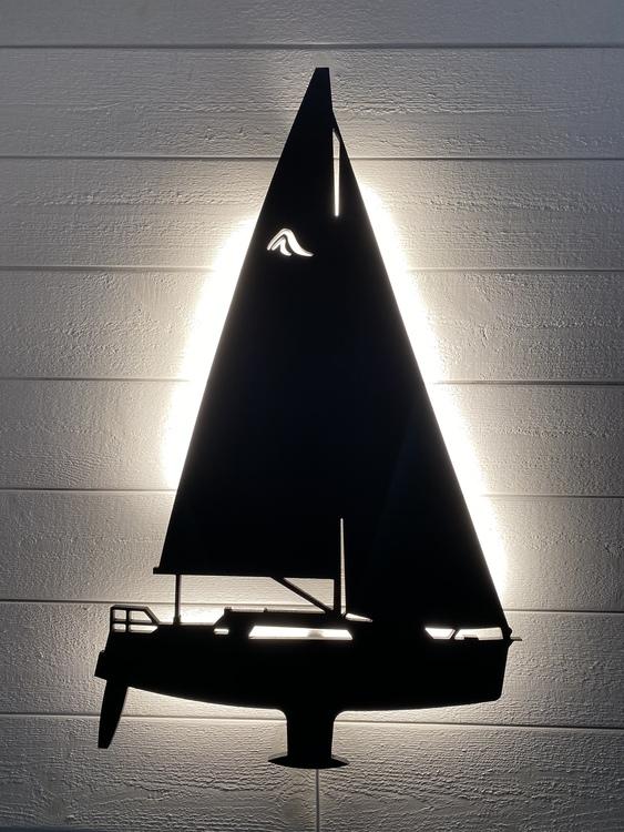 Vägglampa Segelbåt Hanse 320