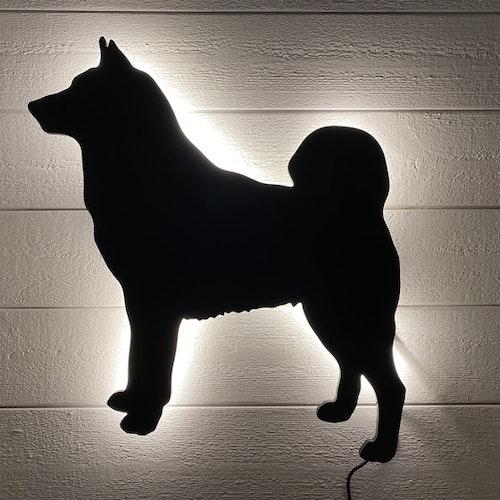 Vägglampa Gråhund