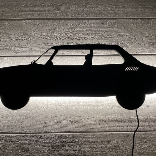 Vägglampa Bil SAAB 99 Turbo