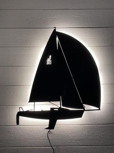 Vägglampa Segelbåt J80