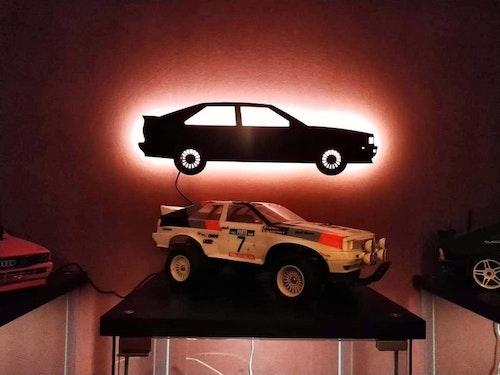 Vägglampa Bil Audi 80 Quattro