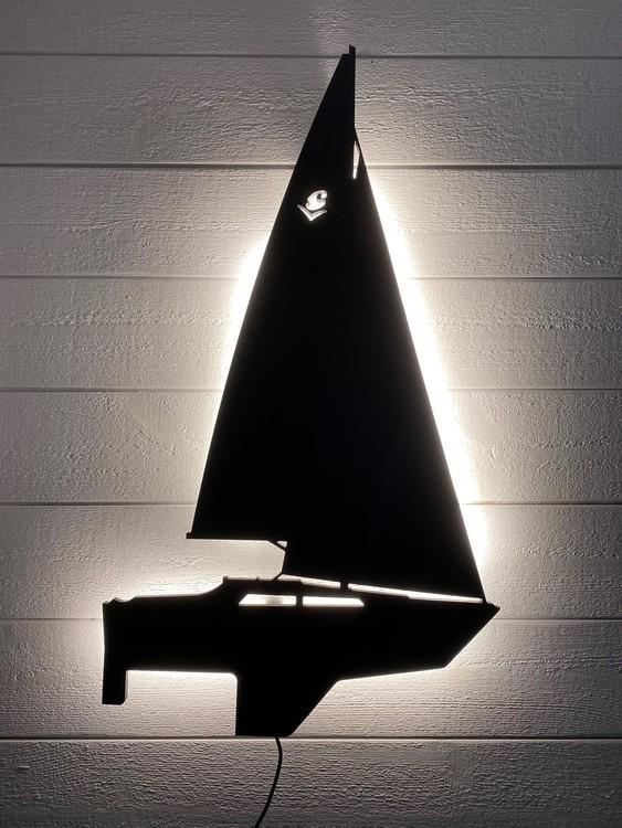 Vägglampa Segelbåt Sunwind 26