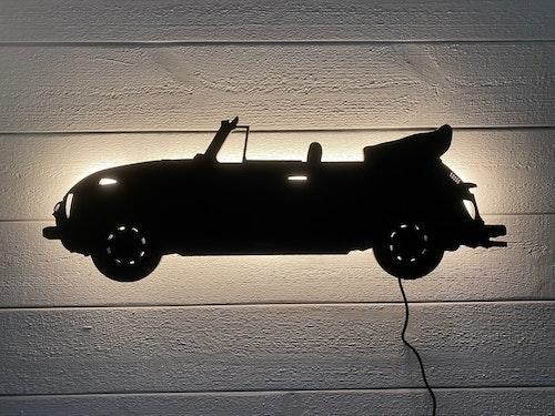 Vägglampa Bil VW Bubbla CAB