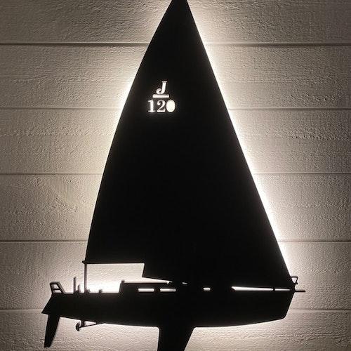 Vägglampa Segelbåt J120