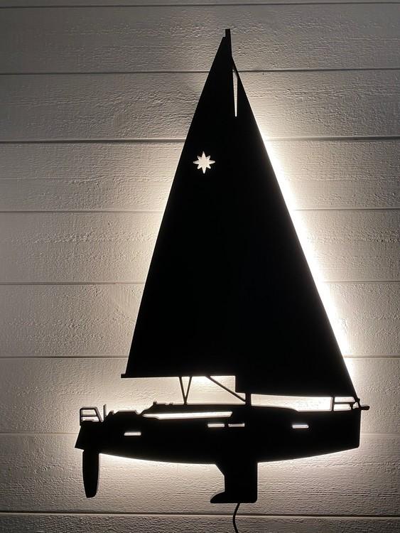 Vägglampa Segelbåt Jeanneau Sun Odyssey 409