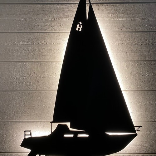 Vägglampa Segelbåt Albin Ballad