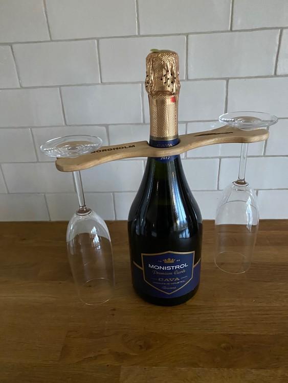 Hållare för Champagneglas