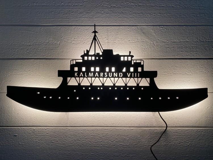 Vägglampa Bilfärja Kalmarsund VIII