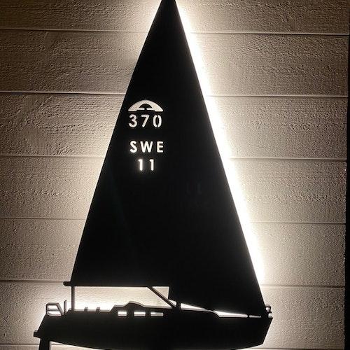 Vägglampa Segelbåt Arcona 370