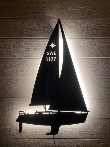 Vägglampa Segelbåt Jeanneau Sun Odyssey 40,3