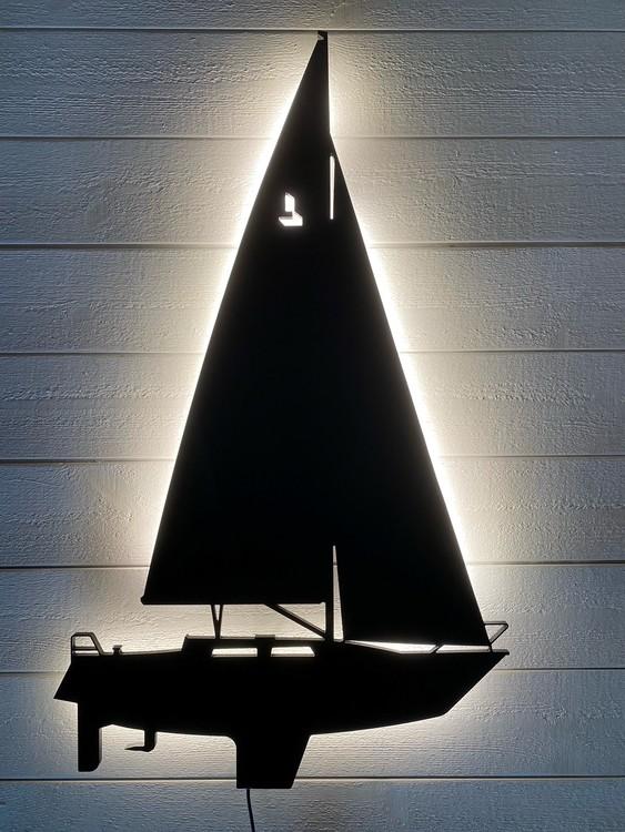 Vägglampa Segelbåt LINJETT 32