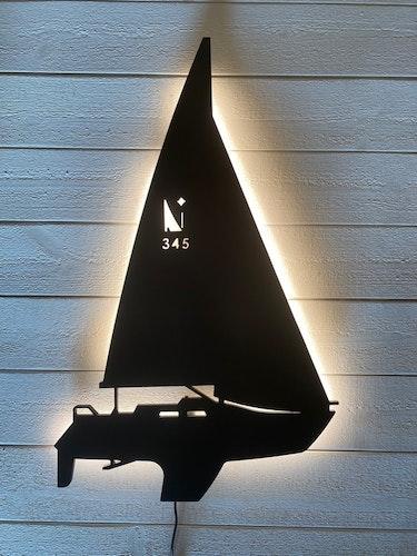 Vägglampa Segelbåt ALBIN NOVA