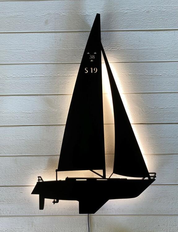 Vägglampa Segelbåt SWEDE 38