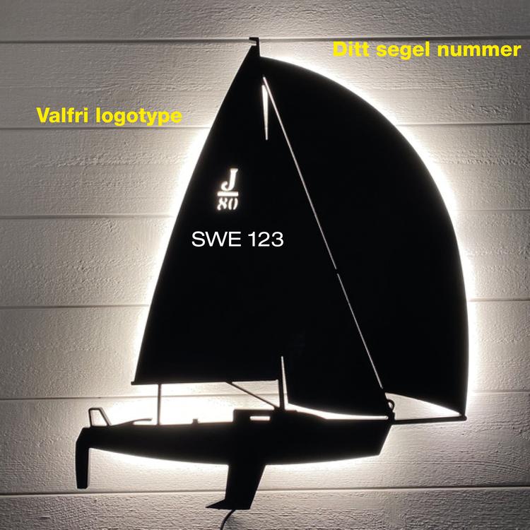 Egen designad lampa liten