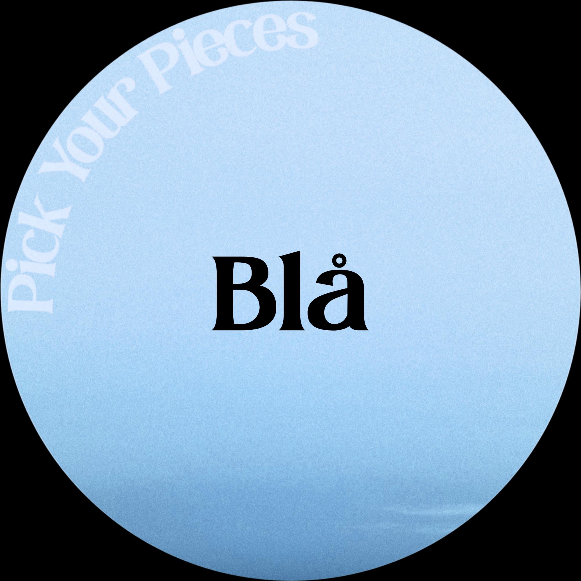 Blå - Pick Your Pieces