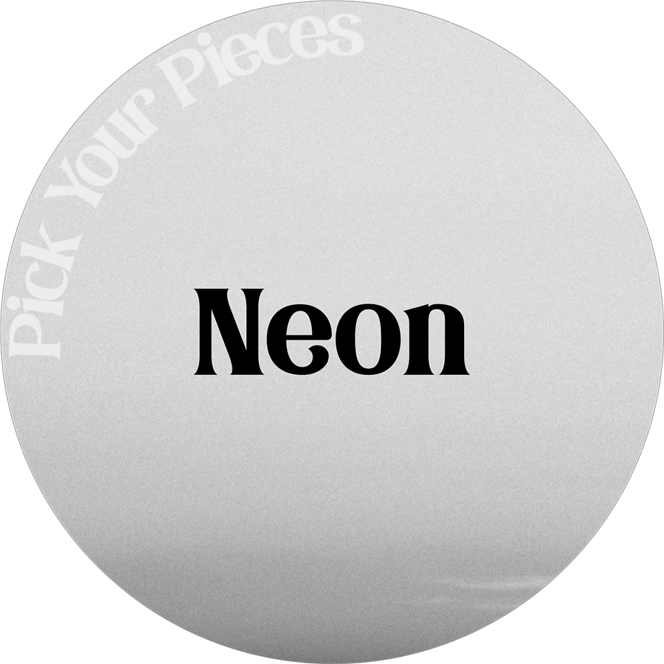 Neon Glitter - Pick Your Pieces