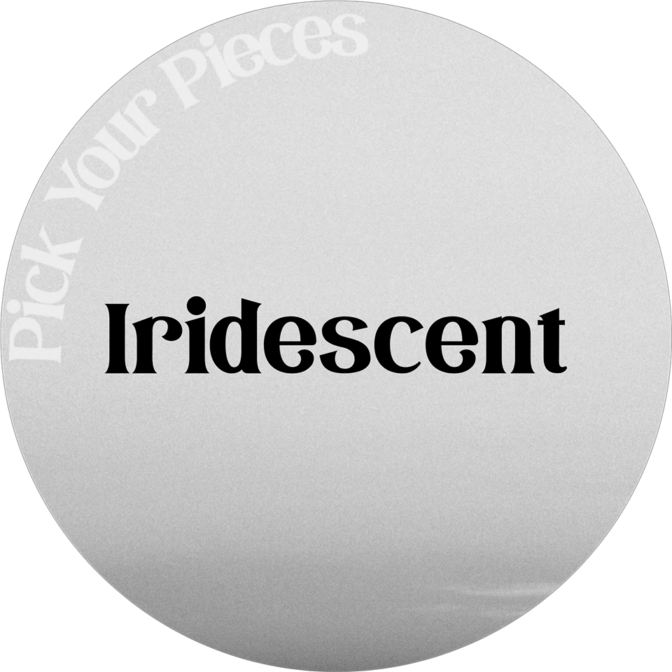 Iridescent Glitter - Pick Your Pieces