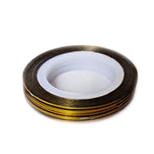 Striping tape guld
