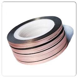 Striping tape rose guld