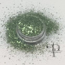Bio-glitter Pure Sea Green Mini Mix