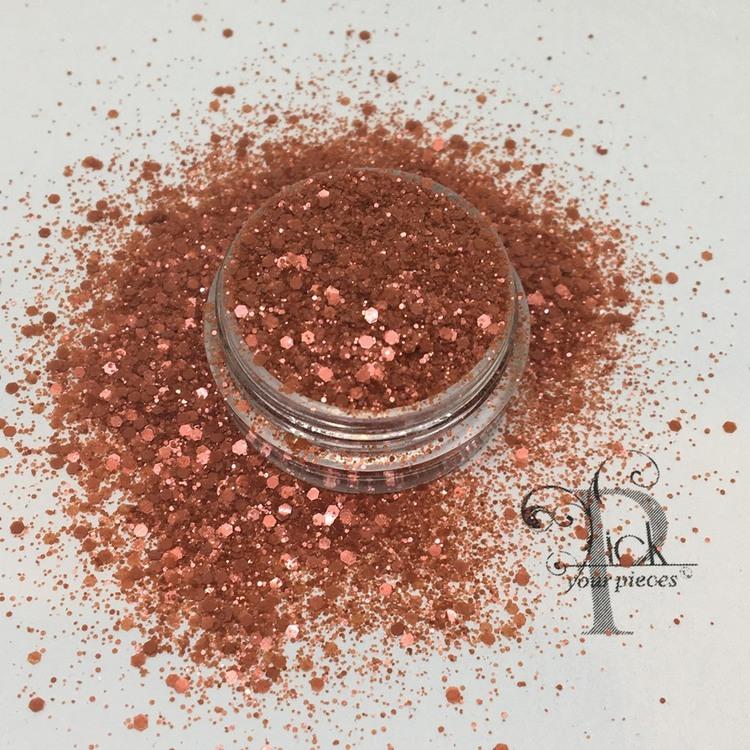 Bio-glitter Pure Red Mini Mix