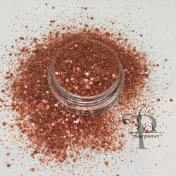 Bio-glitter Pure Red Mini Mix