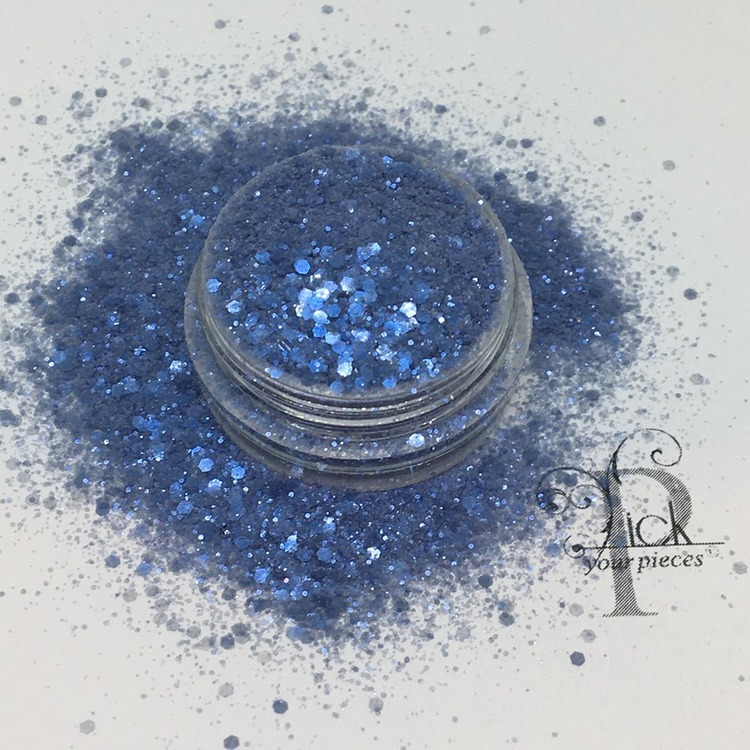 Bio-glitter Pure Ocean Blue Mini Mix