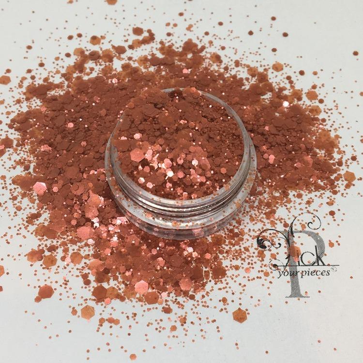 Bio-glitter Pure Red Mega Mix