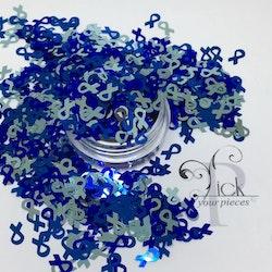 Awareness Ribbons Praise Blue