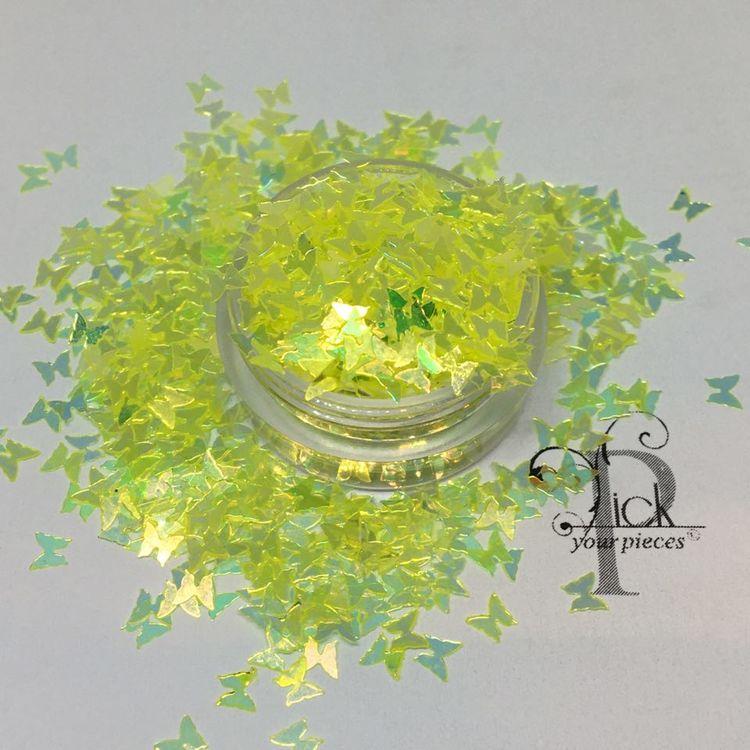Butterflies Iridescent Lemon