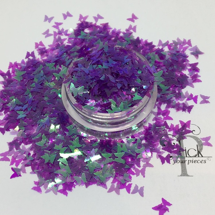 Butterflies Iridescent Purple