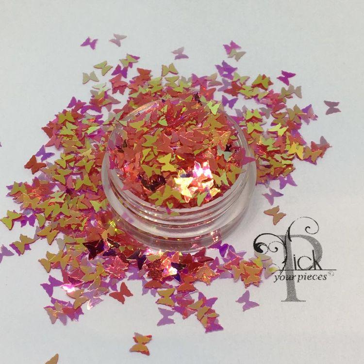 Butterflies Iridescent Strawaberry