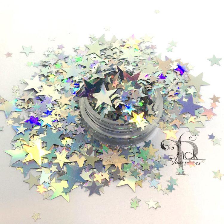 Big Mix Stars Holo Silver