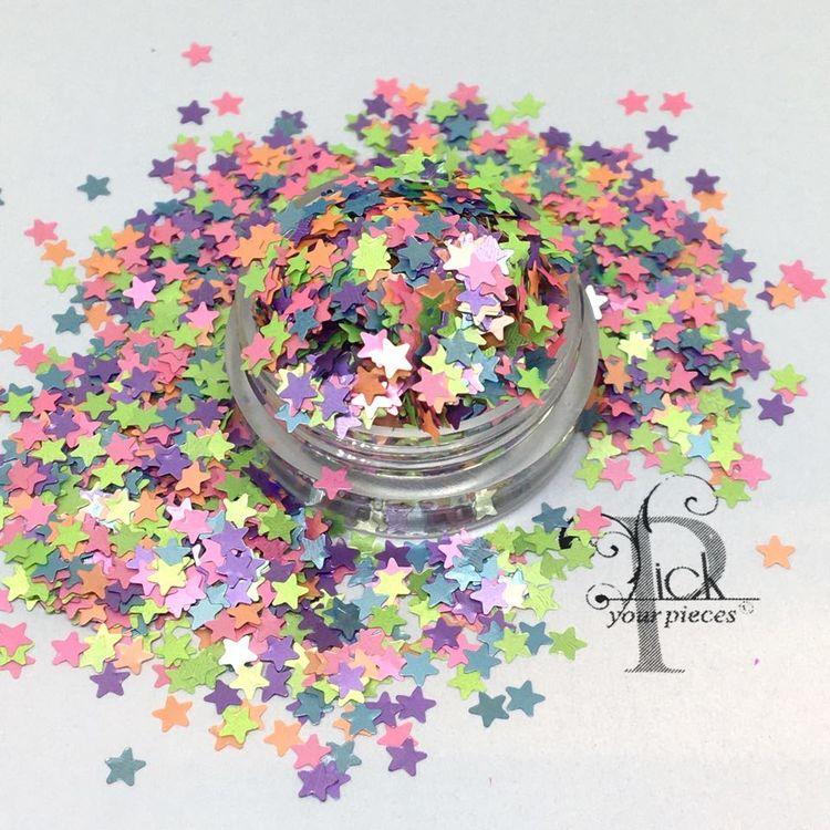 Mini Stars Pastell Mix