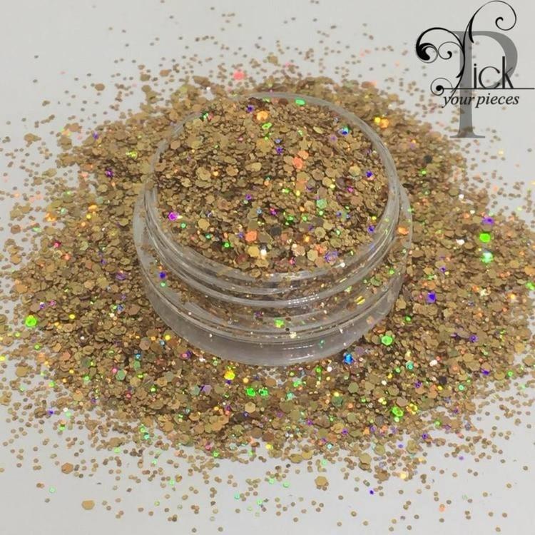 Holo Mini Mix Sand Gold