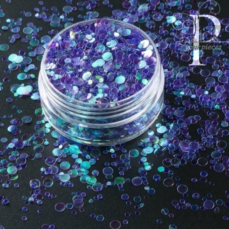Bubbles Dark Blue