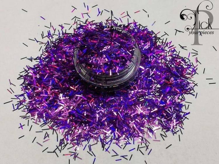 Tinsel Holo Purple