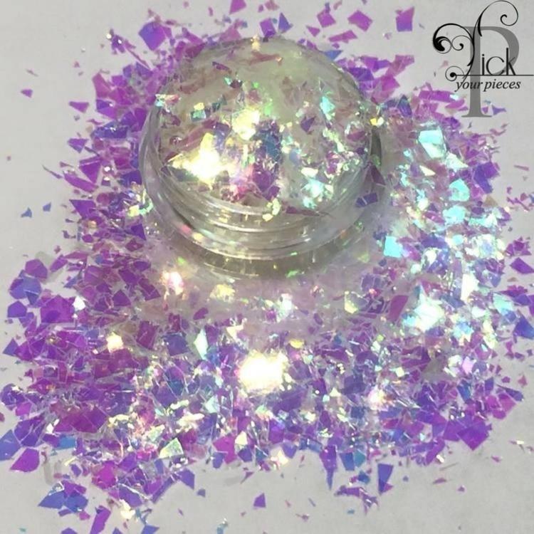 Mylar White/Purple