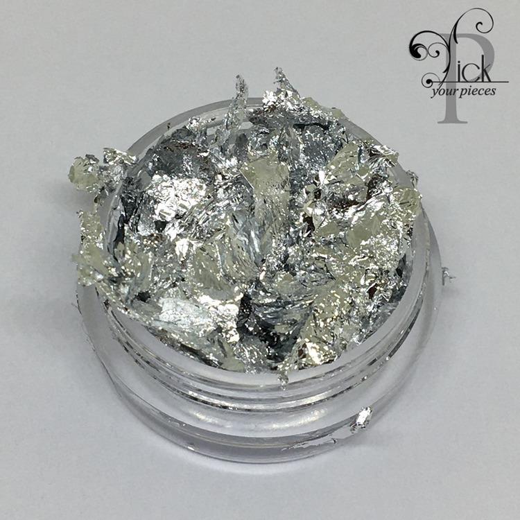 Folie i burk silver