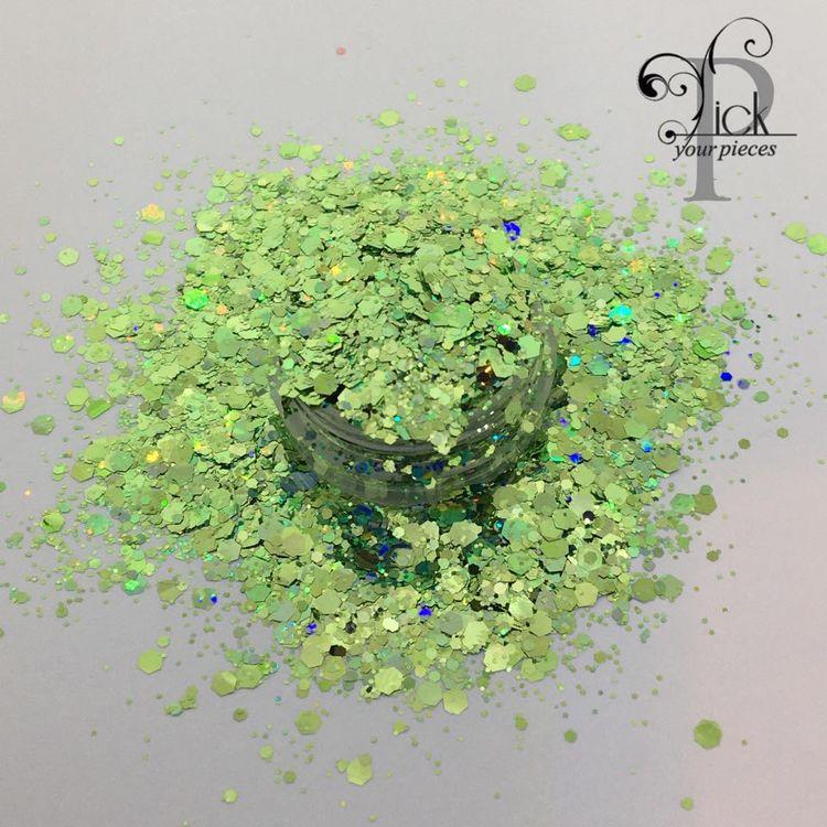 Holo Multi Mix Emerald