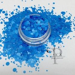 Dots Neon Blue