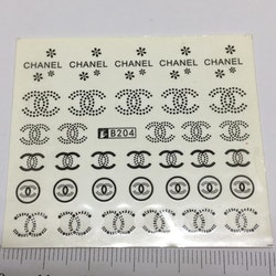 Waterstickers Chanel