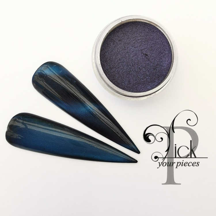 Cat Eye Angora Blue
