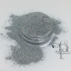 Holo Super Fine Grey Silver