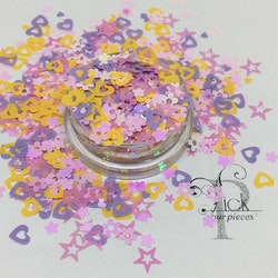 Love Flower Stars