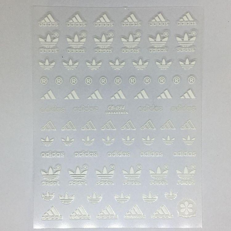 Stickers Logo Adidas